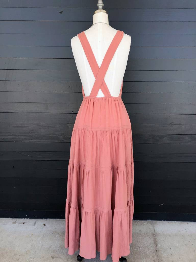 Wild and Free Maxi Dress