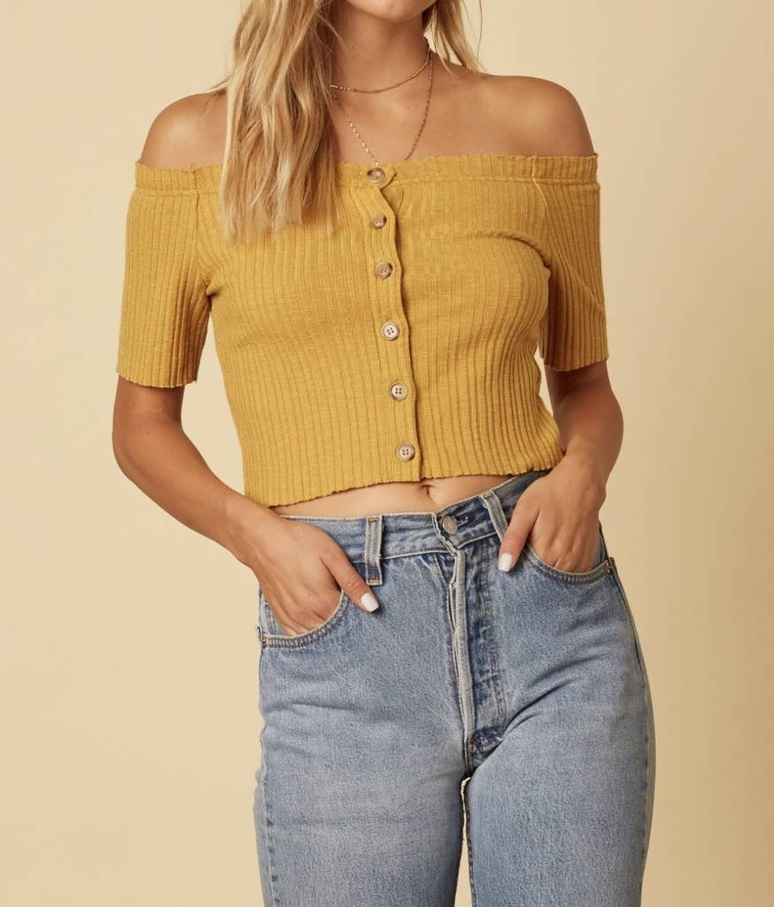 Leia Off-the-Shoulder Top