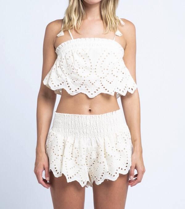 Sayulita Smocked Shorts