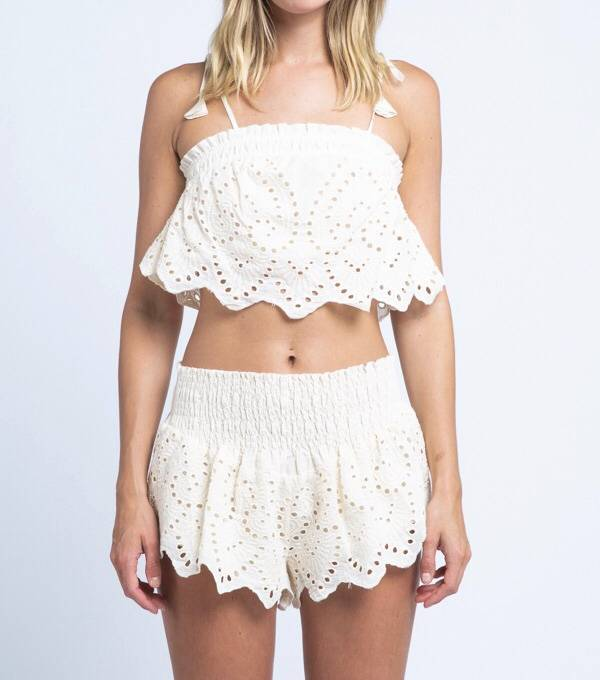 Sayulita Crop Top