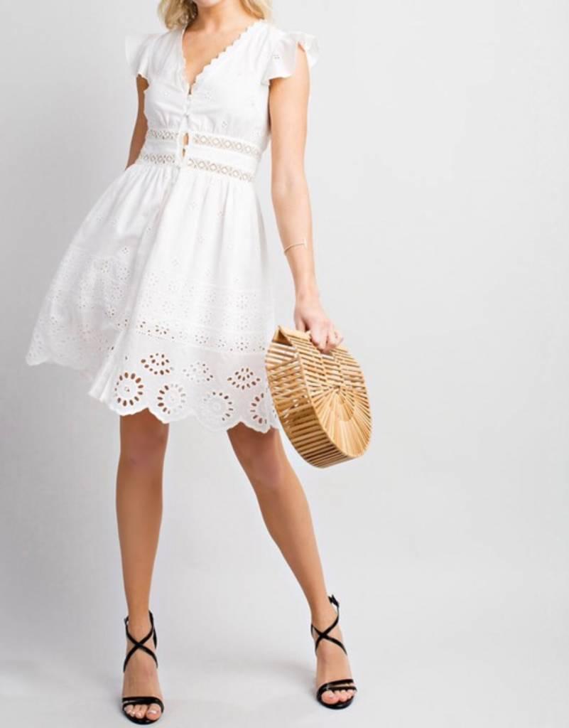 Karlie Eyelet Dress