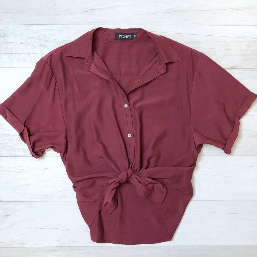 Drew Button Up Shirt