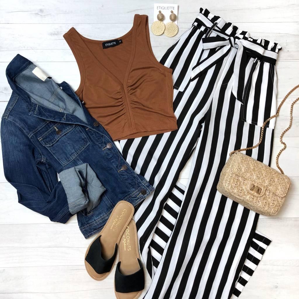 Striped Muse Pants
