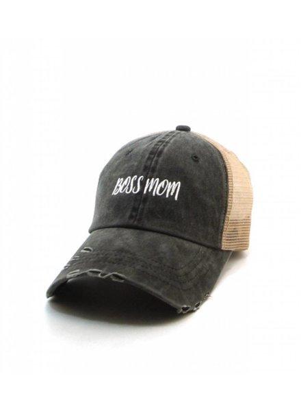 BOSS MOM CAP