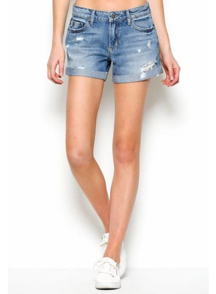 Kenzie Mid-Rise Shorts