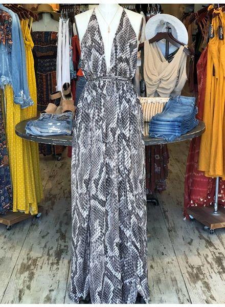 Snakebite Maxi Dress