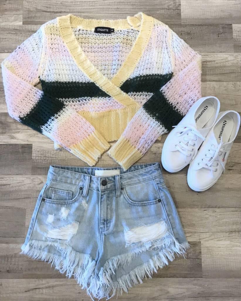 Brynn Crop Sweater