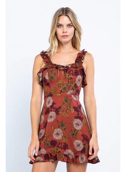 Claire Floral Dress