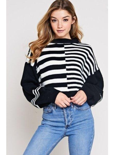 Alyssa Striped Sweater