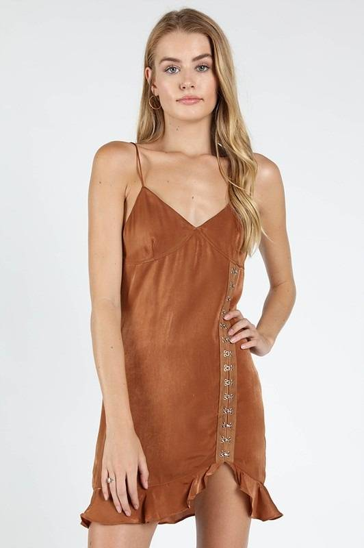 Alexandra Satin Dress