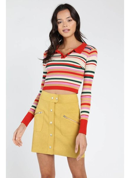 Colby Collared Sweater