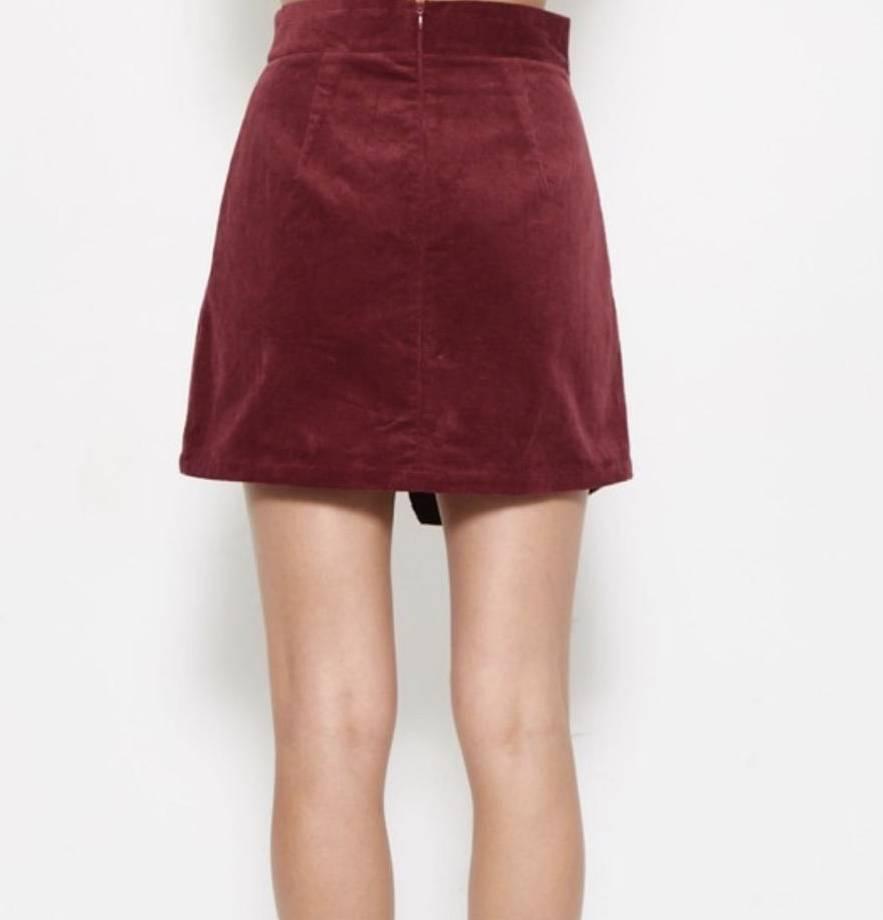 Candice Corduroy skirt