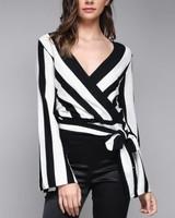 Carolina Striped Blouse