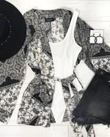 Emma Rose Satin Kimono