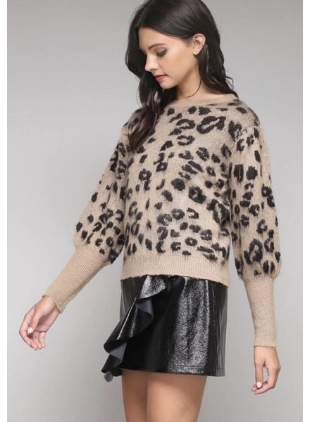 Chloe Leopard Sweater