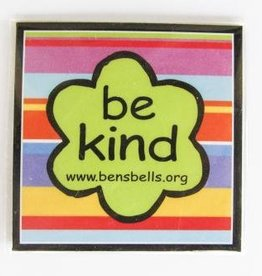 """be kind"" Logo magnet"