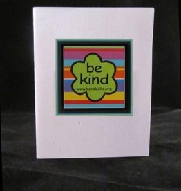'be kind' Logo Magnet Card