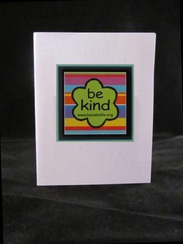 'be kind' Logo Magnet Card