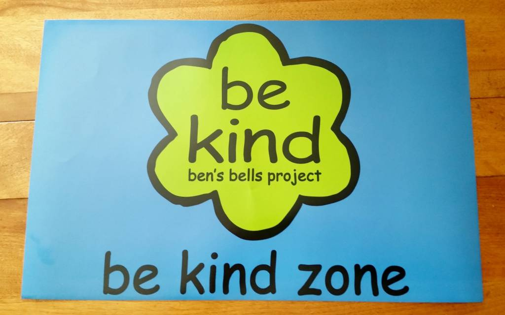 """Be Kind Zone"" Poster"