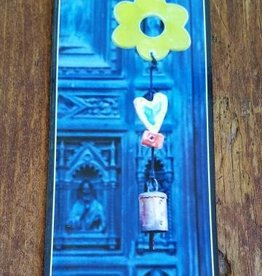 Florence Blue Door Magnet