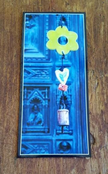 Florence Blue Door Magnet
