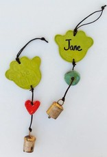 Paw Ornament w/Personalization