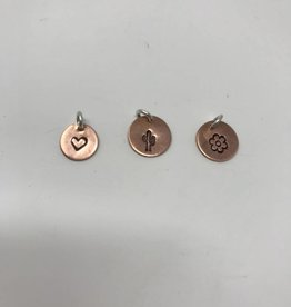Circle Copper Pendant