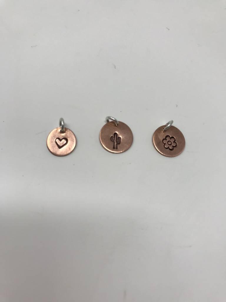Circle Copper Pendant