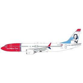 Gemini Jets B737 MAX8 Norwegian Sonja Henie LN-MAX 1:200