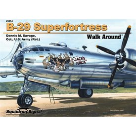 Squadron B29 Superfortress:Walk Around#54 Color Sc**O/P**