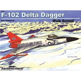 Squadron F102 Delta Dagger:Walk Around #64 Sc