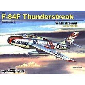 Squadron F84f Thunderstreak:Walk Around #59 Sc