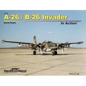 Squadron A26/B26 Invader:In Action #242 Sc**O/P**