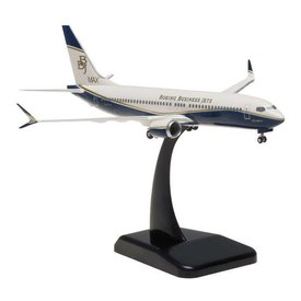 Hogan B737 MAX8 BBJ Boeing Business Jet 1:200 with Gear + stand