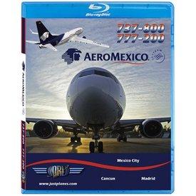 justplanes AEROMEXICO B737-800 & B777-200 Blue-Ray