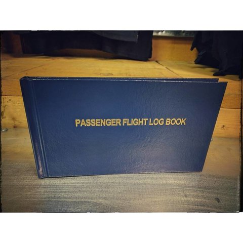 Passenger Flight Log Book HC