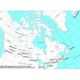 Nav Canada T 1/2 Terminal Area Chart