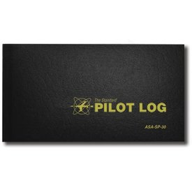 ASA - Aviation Supplies & Academics Logbook Standard Black