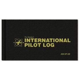 ASA - Aviation Supplies & Academics Logbook International Pilot Log