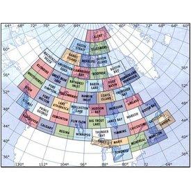 Nav Canada VNC Navigation Charts 1:500 000