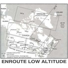 Nav Canada Low Altitude IFR Chart September 13th 2019
