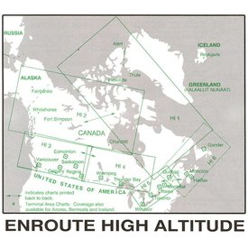 Nav Canada High Altitude IFR Chart Nov 8 2018
