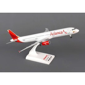 SkyMarks A321 Avianca new livery 1:150 with Gear + stand