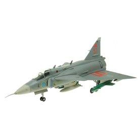 AV72 JA37 Viggen Swedish Air Force 52 Grey 1:72 with stand**O/P**