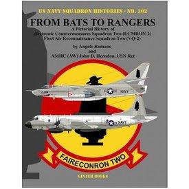 Naval Fighters From Bats To Rangers:Pict.Hist. Electronic Countermeasures Squadron Two,Ecmron-2, Fleet Air Reconnaissance Squadron Two Vq2 Usnsh#302, Sc