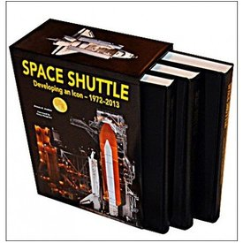 Specialty Press Space Shuttle:Developing An Icon:1973-2013:3 Volume Set Hc *limited*