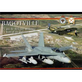 IMAVIATION Bagotville:75 Years of Air Defence / 75 ans de defence aerienne hardcover (bilingual)