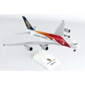 SkyMarks A380-800 Singapore Turkey 1:200 W/Gear+Stand