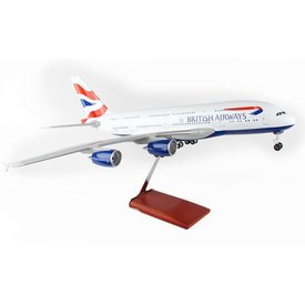 Skymarks Supreme A380-800 British Airways 1:100 with Gear+stand