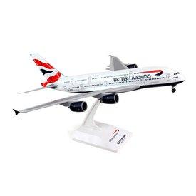 SkyMarks A380-800 British Airways G-XLEA 1:200 With Gear+stand